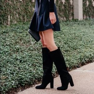 NWT Sam Edelman Caprice Suede Knee-High Boots